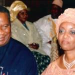 Diezani Alison-Madueke with her husband