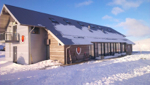 Hengill Lodge: Accommodation suitable for skiing holidays in Iceland