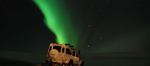 Northern Lights tours in Iceland underway with super Jeep tour provider