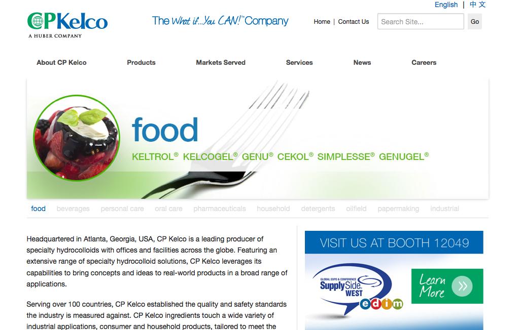 CP Kelco Announces Intent to Build New Citrus Peel Plant in Latin America
