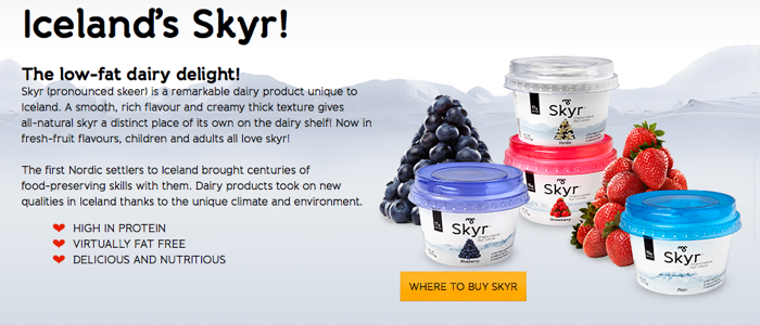 Huffington Post taste test article votes MS Icelandic Skyr yogurt number one