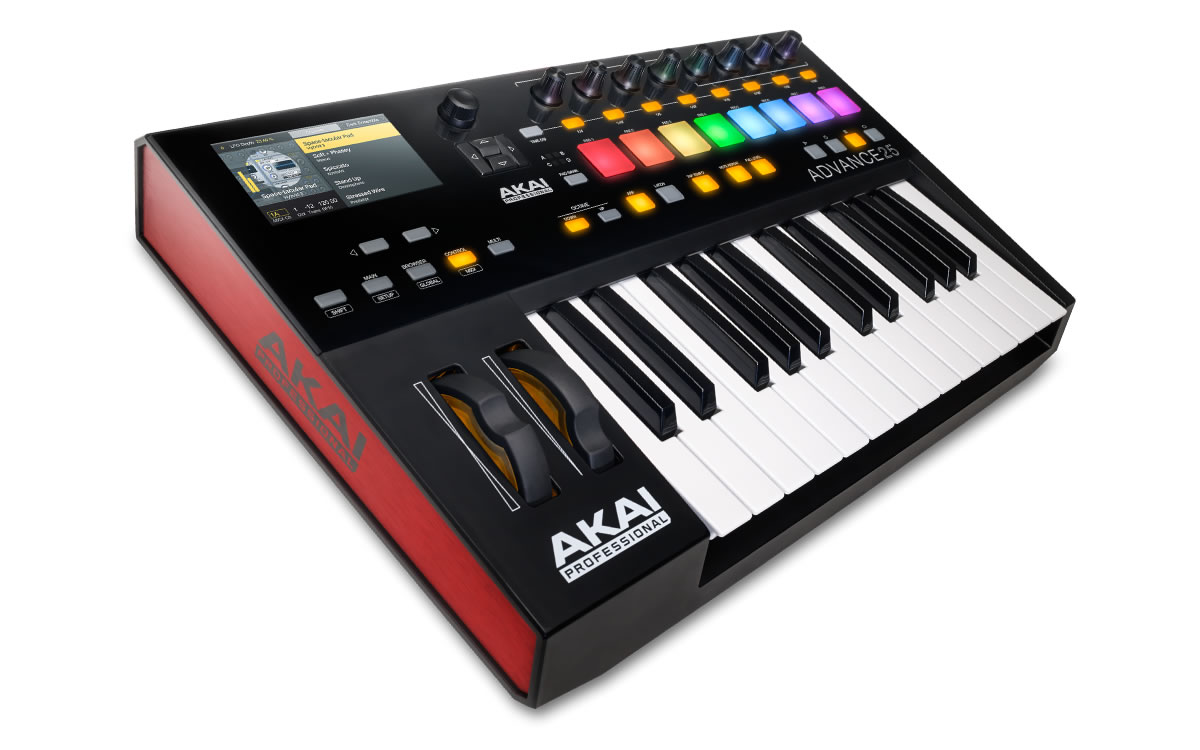DJkit Announces UK Launch of Akai Advance 25, 49 and 61 Keyboards