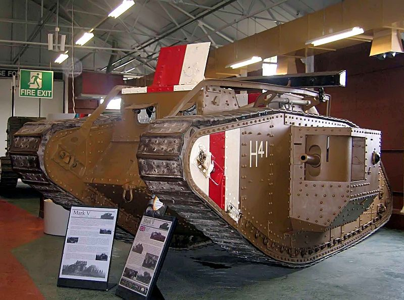 ETC encourages students to visit the Tank Museum in Dorset