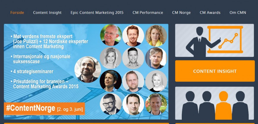 Content Marketing Norge Kristjan Mar Hauksson