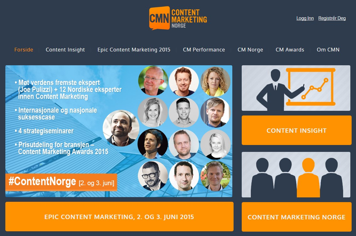 Kristján Már Hauksson COO SMFB Engine nominated King of Content 2015