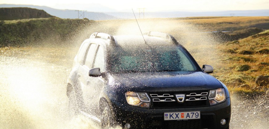 Dacia Duster in action