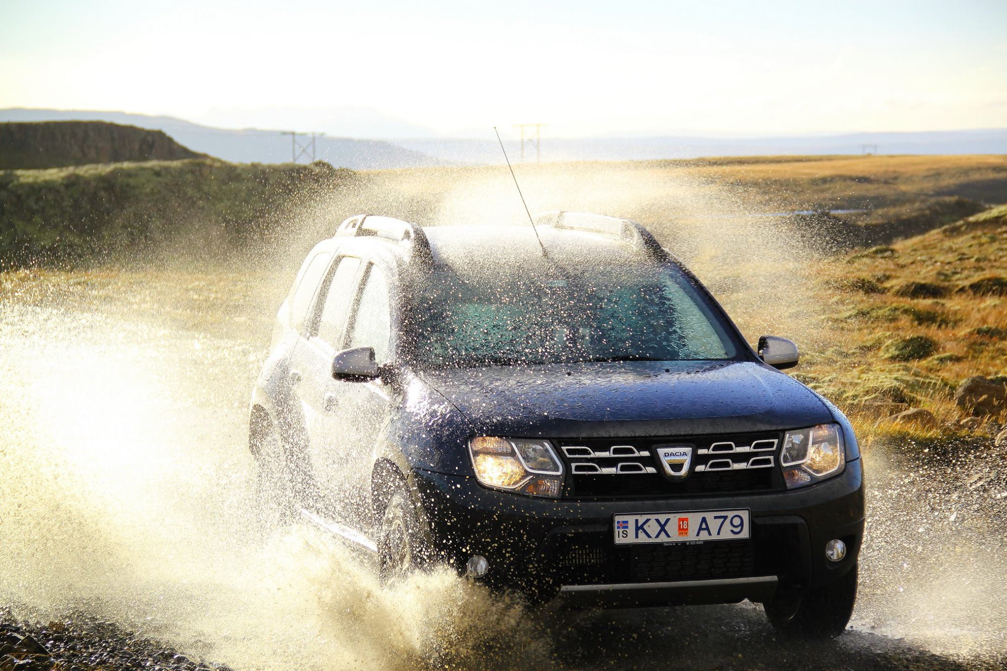 Driving Iceland's Highlands in a 4×4 rental car