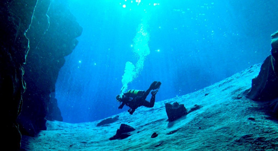 Scuba diving in Iceland is the experience of a lifetime