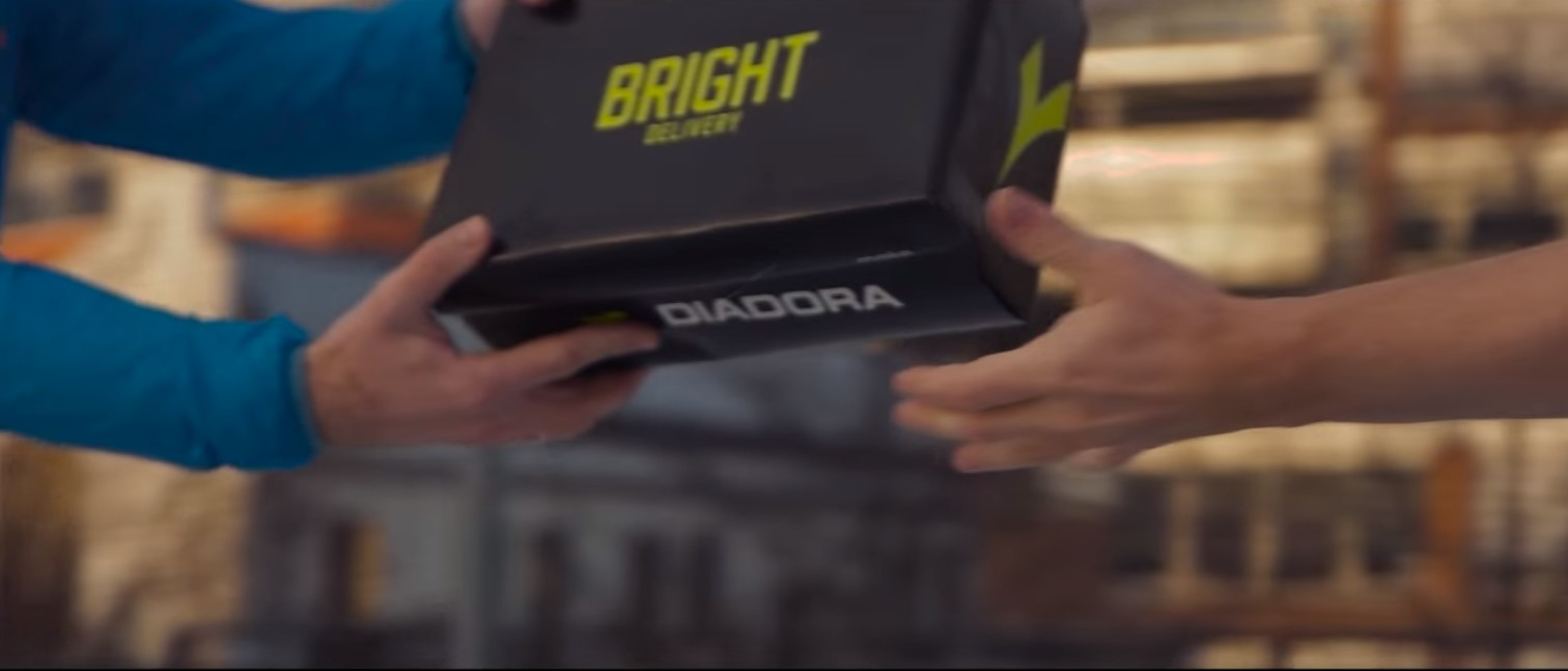 Diadora's viral campaign goes live with the most spectacular relay run