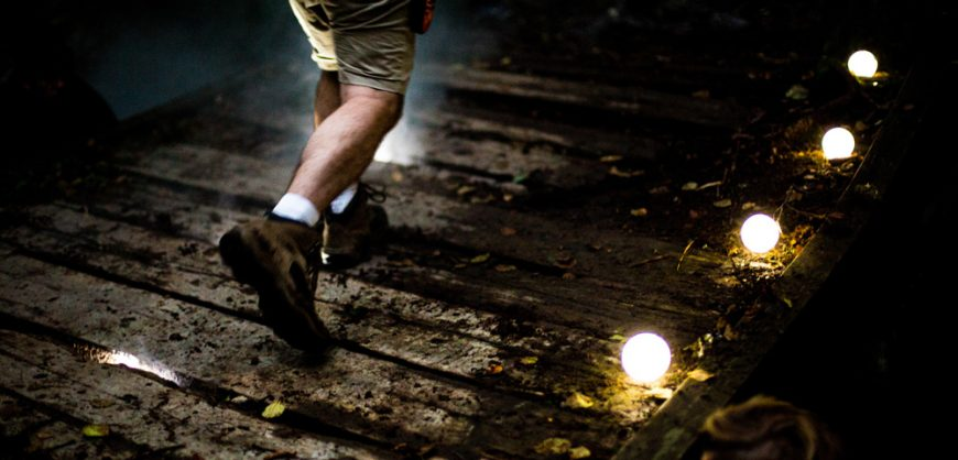 light installation Norway