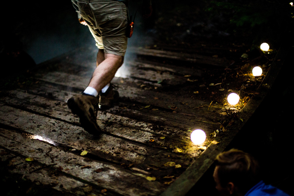 Light Installation Pays Homage to Norwegians' Love of Hiking