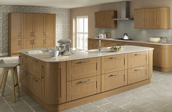 Achieve A Warm And Inviting Space With Best Buy Kitchen's Real Wood Kitchen