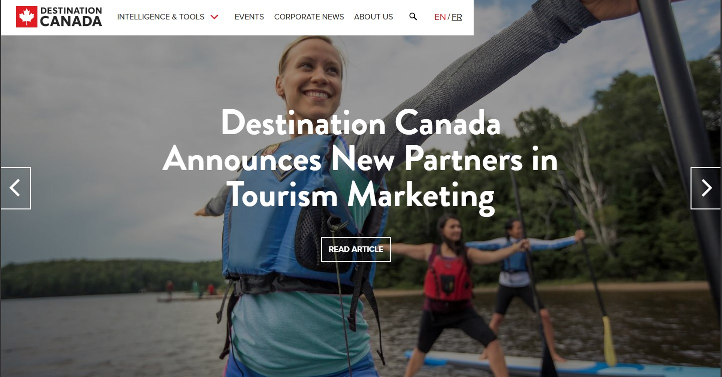 Destination Canada Announces New Partners in Tourism Marketing