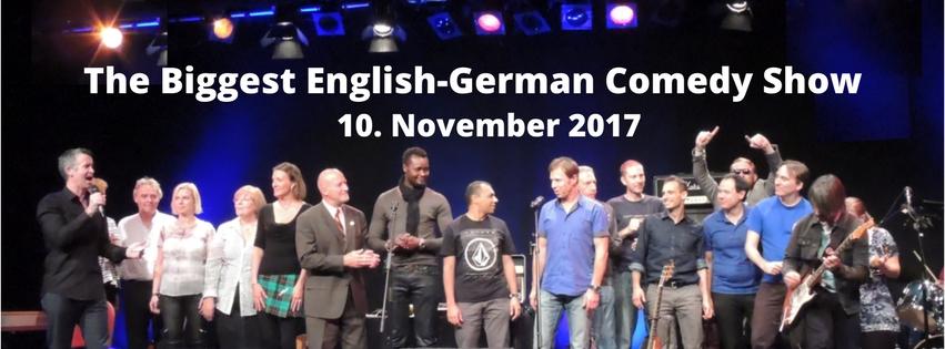Comedy Club Munich Hosts Munich´s biggest English-German Comedy Show