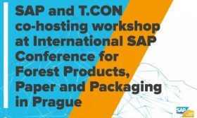 T.CON, an SAP consulting and solution provider, is co-hosting a workshop with SAP at the International SAP Conference for Forest Products, Paper and Packaging in Prague