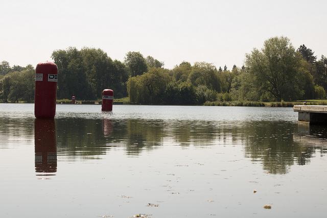 Thames Valley Triathletes Hold Their Third Triathlon In Iconic Beale Park, Berkshire