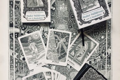Yggdrasil Norse Divination Cards and drawings