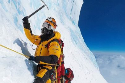 John Snorri from Iceland on K2 attempting to summit