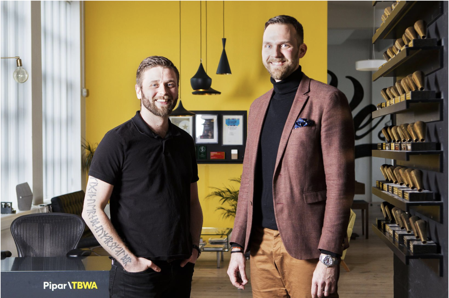 The Engine & Pipar\TBWA Win Nordic Search Award
