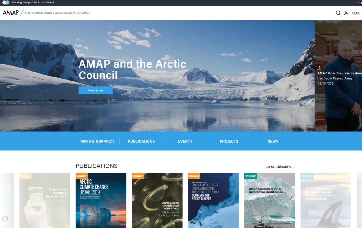 The State of the Arctic: New findings from AMAP on Climate, Pollution and Human Health support urgent need for action